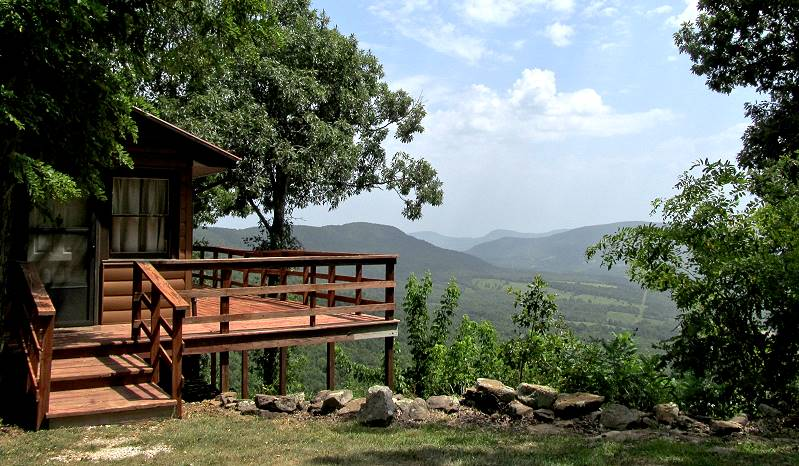 Arkansas Grand Canyon View Cabin Is Located South Of